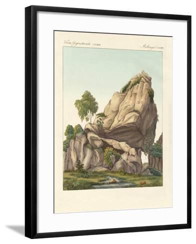 The Supposed Fossilized Reuter of Fontainebleau--Framed Art Print