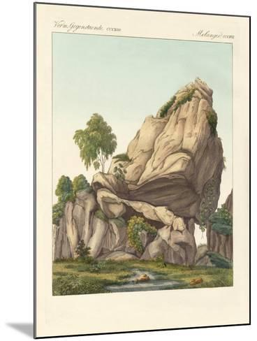 The Supposed Fossilized Reuter of Fontainebleau--Mounted Giclee Print