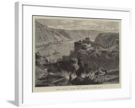The Rhine, from its Source to the Sea--Framed Art Print