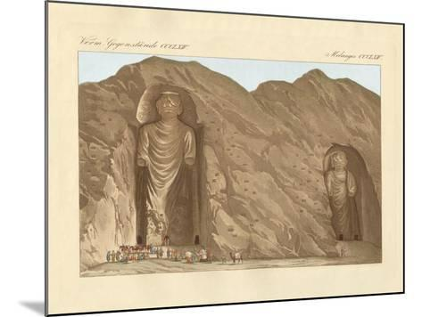 The Colossal Graven Images and the Cave-City Bameean in Cabool--Mounted Giclee Print