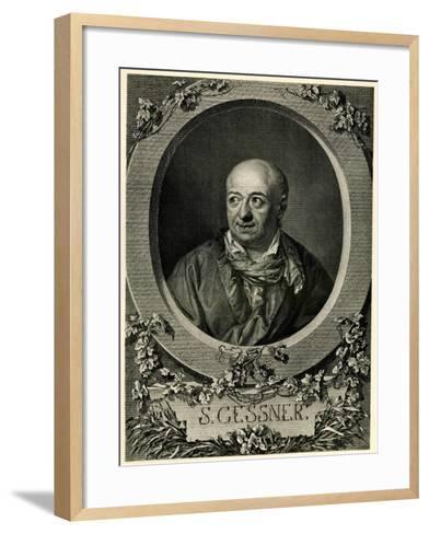 Salomon Gessner, 1884-90--Framed Art Print