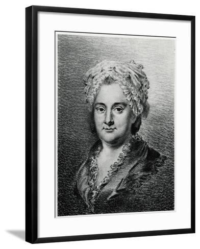 Sophie La Roche, 1884-90--Framed Art Print