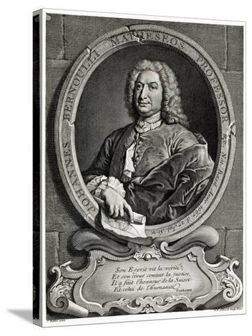 Johann Bernoulli, 1884-90--Stretched Canvas Print