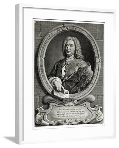 Johann Bernoulli, 1884-90--Framed Art Print