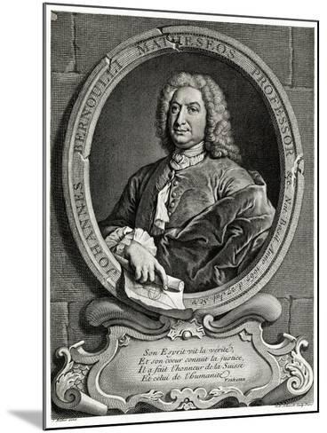 Johann Bernoulli, 1884-90--Mounted Giclee Print