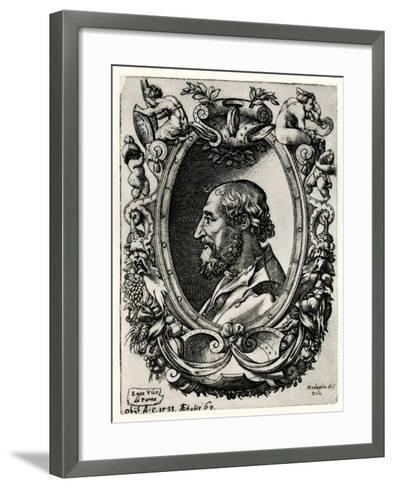 Lodovico Ariosto, 1884-90--Framed Art Print