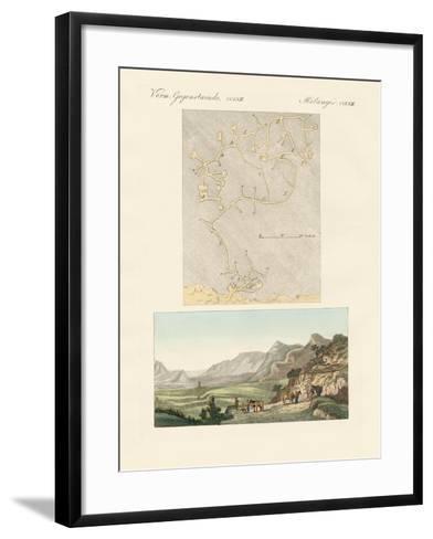 The Labyrinth of Crete--Framed Art Print