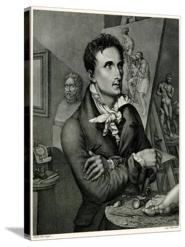 Antonio Canova, 1884-90--Stretched Canvas Print