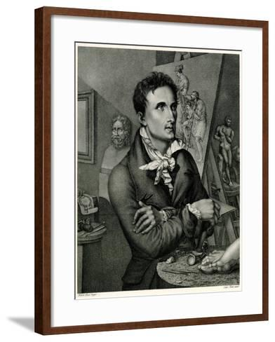 Antonio Canova, 1884-90--Framed Art Print