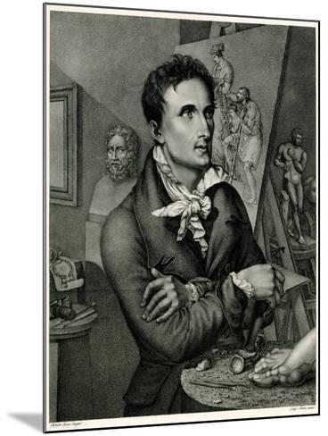 Antonio Canova, 1884-90--Mounted Giclee Print