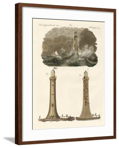 Bell Rock Lighthouse--Framed Art Print