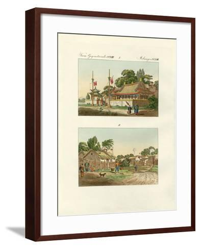 Flats of the Chinese--Framed Art Print