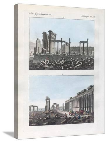 Ruins of Palmyra--Stretched Canvas Print