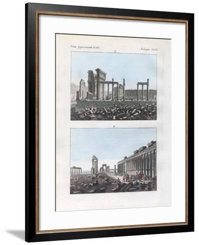 Ruins of Palmyra--Framed Art Print