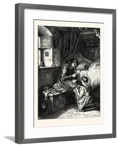The Old Bible--Framed Art Print