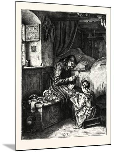 The Old Bible--Mounted Giclee Print
