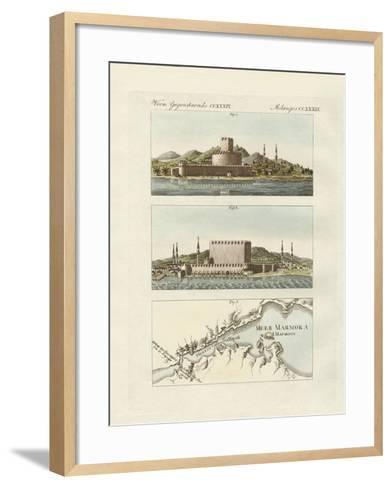 The Dardanelles--Framed Art Print