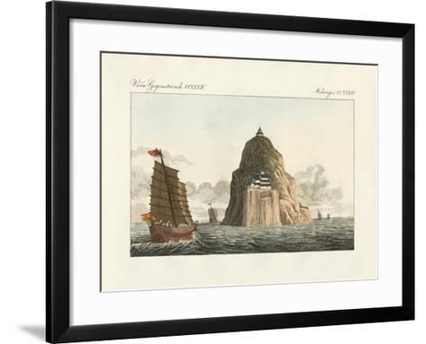 Strange Monadnock--Framed Art Print