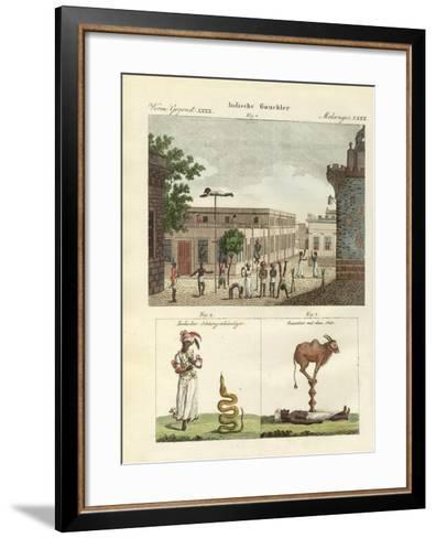 Indian Bateleurs--Framed Art Print