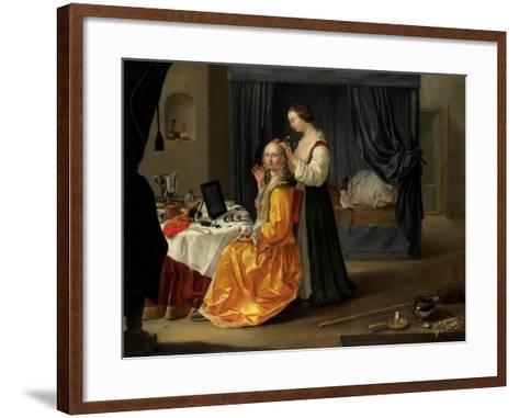Lady at Her Toilet, C.1650-60--Framed Art Print