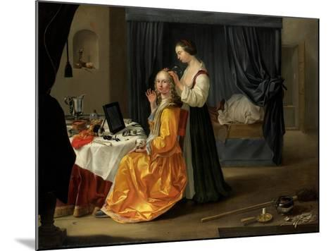 Lady at Her Toilet, C.1650-60--Mounted Giclee Print