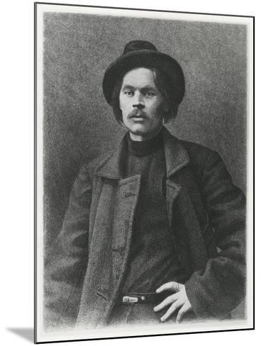 Maxim Gorky--Mounted Giclee Print