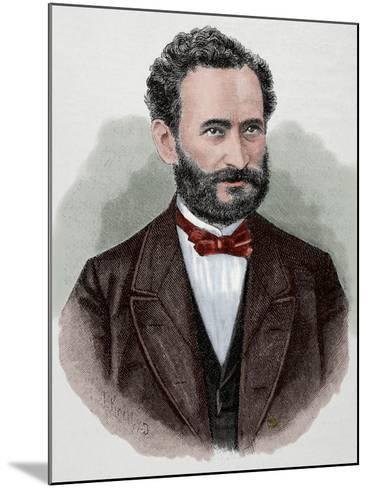 Eduard Lasker (1829-1884). German Politician and Jurist--Mounted Giclee Print