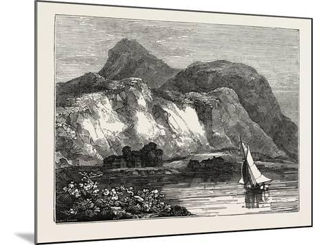 View of Inverlochy Castle and Ben Nevis, Inverness-Shire, Scotland--Mounted Giclee Print