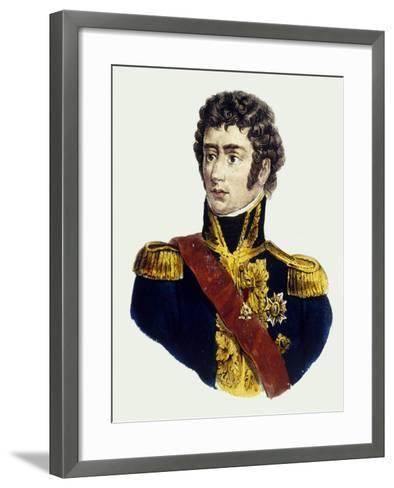 Charles XIV John of Sweden--Framed Art Print