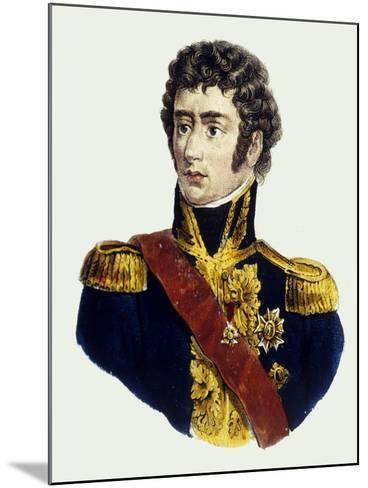 Charles XIV John of Sweden--Mounted Giclee Print