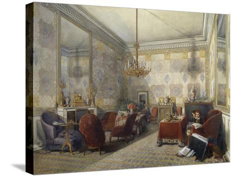 Drawing Room, 1852--Stretched Canvas Print