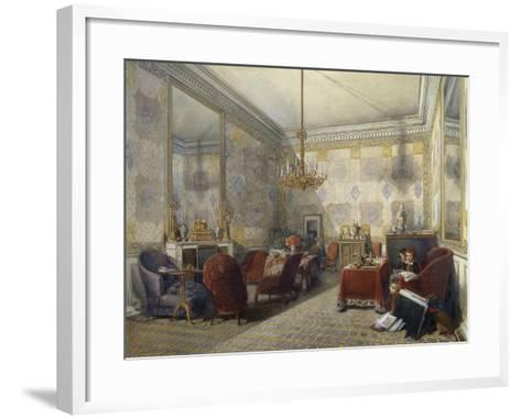 Drawing Room, 1852--Framed Art Print