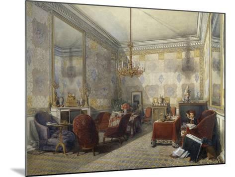 Drawing Room, 1852--Mounted Giclee Print