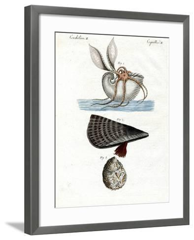 Strange--Framed Art Print