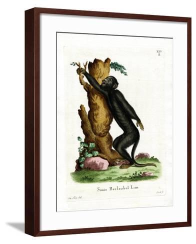 Black Howler--Framed Art Print