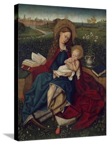 The Madonna of Humility, C.1450-70--Stretched Canvas Print