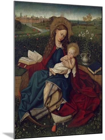 The Madonna of Humility, C.1450-70--Mounted Giclee Print