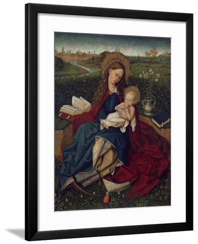 The Madonna of Humility, C.1450-70--Framed Art Print