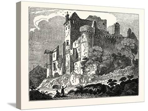 Craigmillar Castle, Edinburgh, Scotland, UK--Stretched Canvas Print