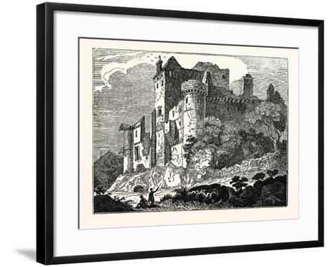 Craigmillar Castle, Edinburgh, Scotland, UK--Framed Art Print