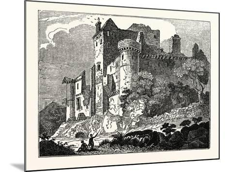 Craigmillar Castle, Edinburgh, Scotland, UK--Mounted Giclee Print
