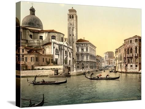 San Geremia Church, Venice, Italy, C.1890-C.1900--Stretched Canvas Print