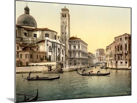 San Geremia Church, Venice, Italy, C.1890-C.1900--Mounted Giclee Print