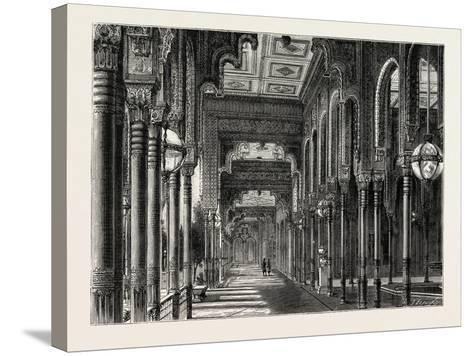 Kiosk in the Chateau of Ghezeereh, Egypt, 1879--Stretched Canvas Print