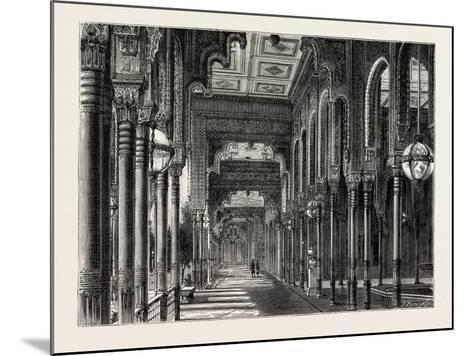 Kiosk in the Chateau of Ghezeereh, Egypt, 1879--Mounted Giclee Print