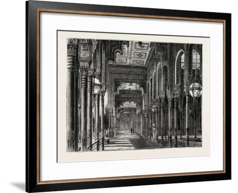 Kiosk in the Chateau of Ghezeereh, Egypt, 1879--Framed Art Print