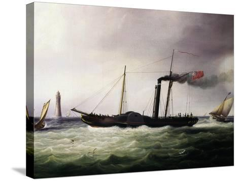 Postal Steamer Packet, 1831, United Kingdom, 19th Century--Stretched Canvas Print