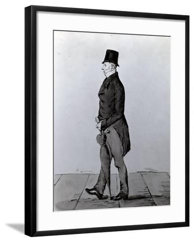 Gentlemen, When I Go to the Pall, Thus Go I!!!--Framed Art Print