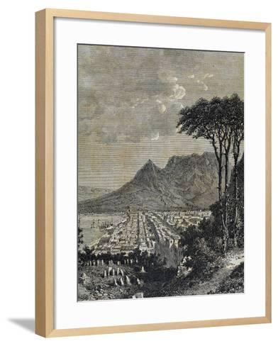Republic of South Africa, Cape of Good Hope--Framed Art Print