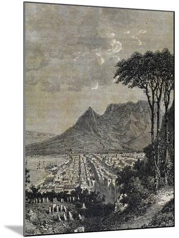 Republic of South Africa, Cape of Good Hope--Mounted Giclee Print